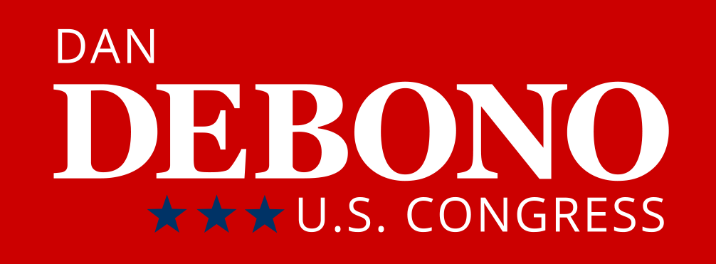Logo for DeBono for Congress